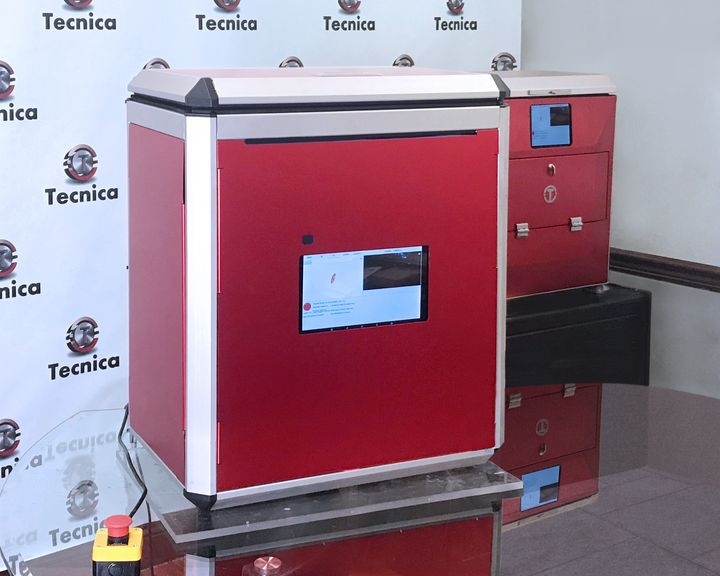 Prototype of Tecnica's CASA advanced SLS 3D printer [Source: Tecnica]