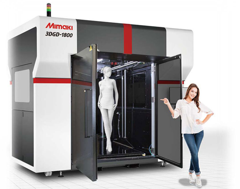 Mimaki's New Large-Scale 3D Printer « Fabbaloo