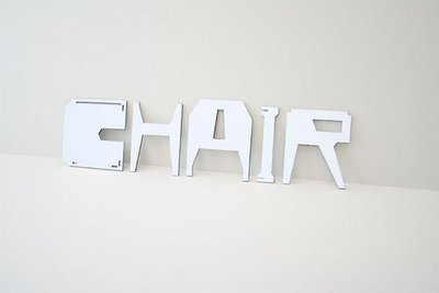 Chair Made of Itself