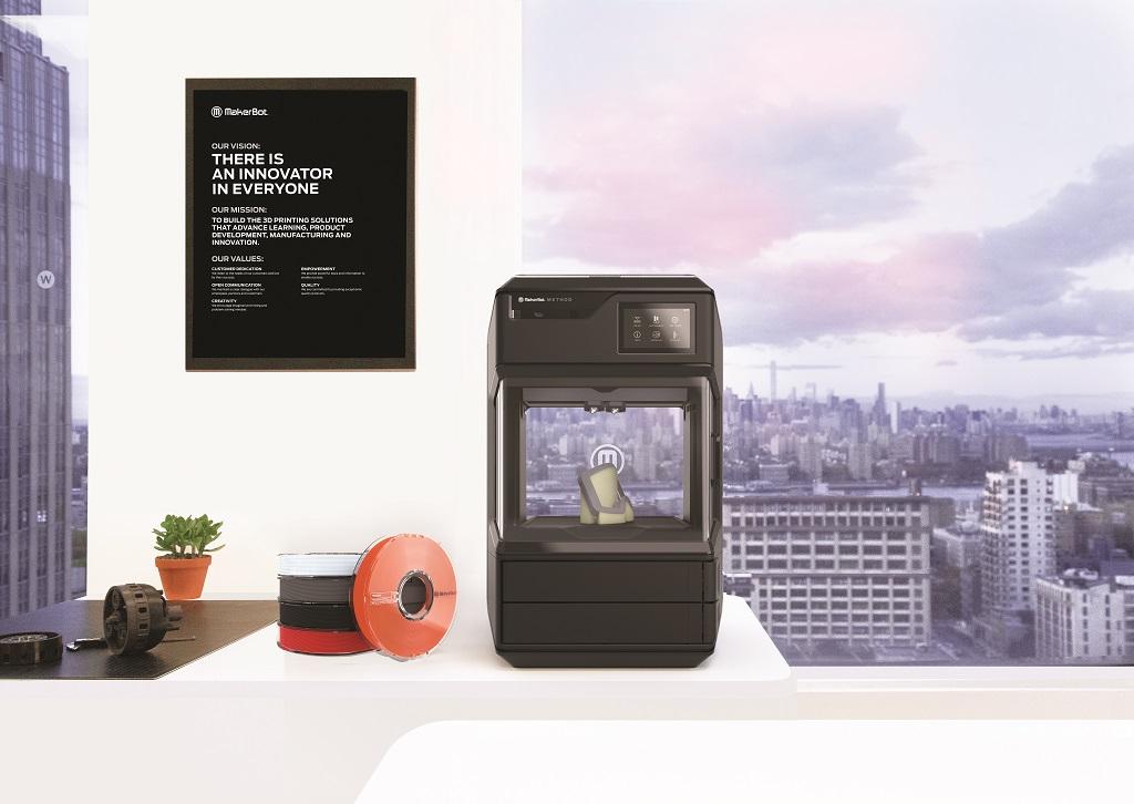MakerBot Unveils Its New 3D Printer: Meet the Method