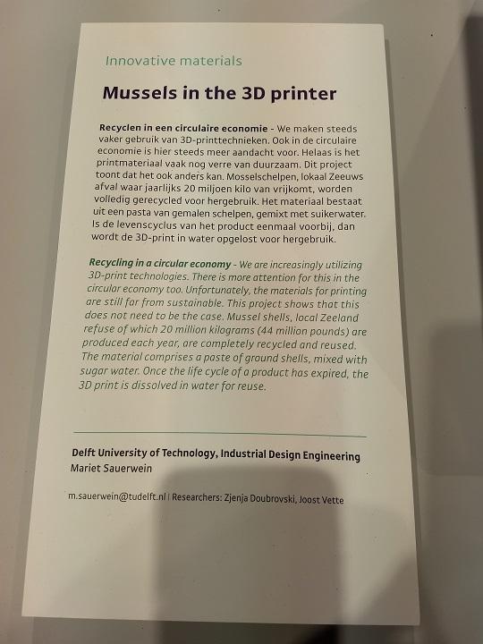 3D Printing at Dutch Design Week 2018