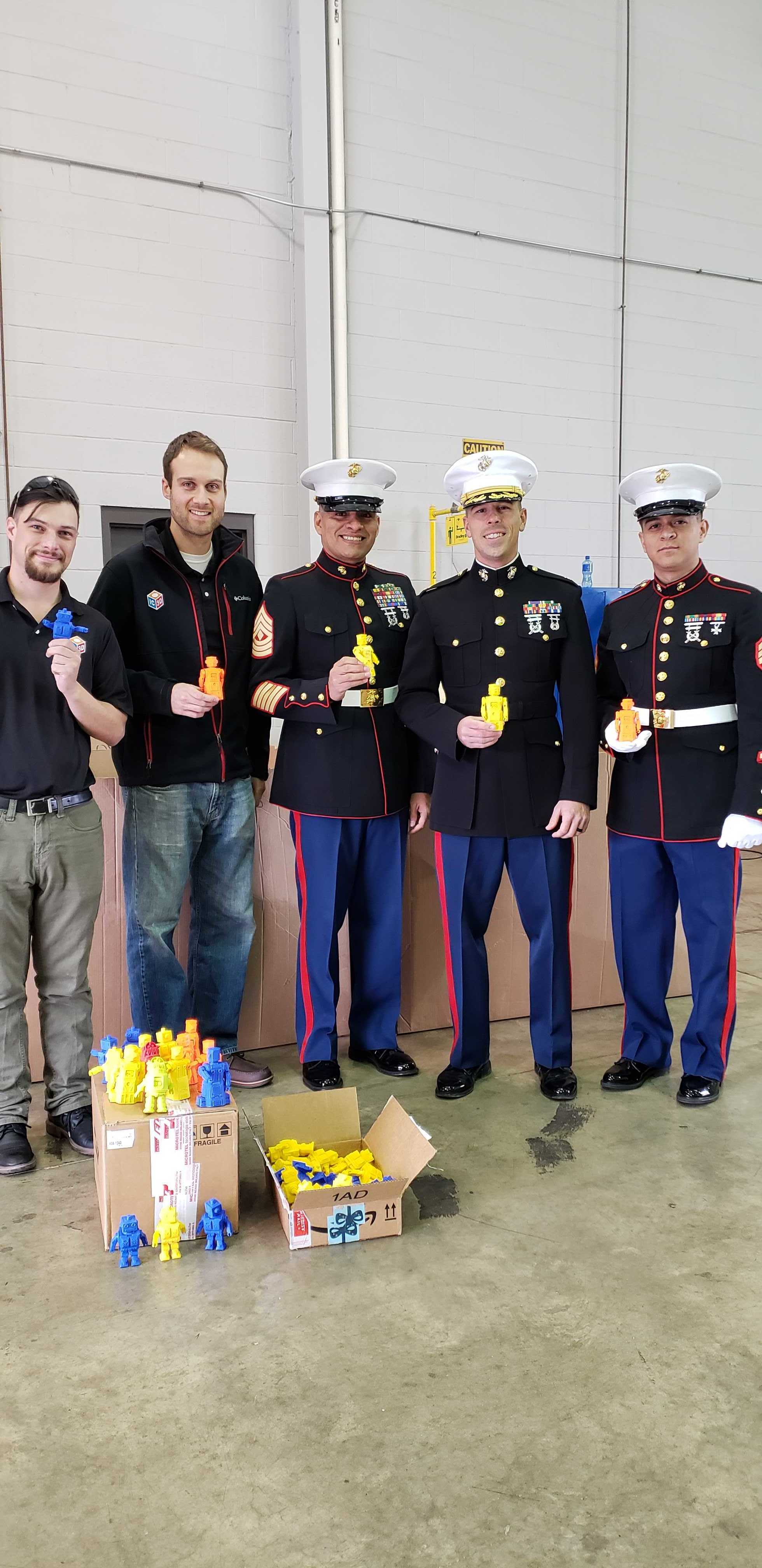 3D Printed Holiday Cheer with IC3D and Toys for Tots