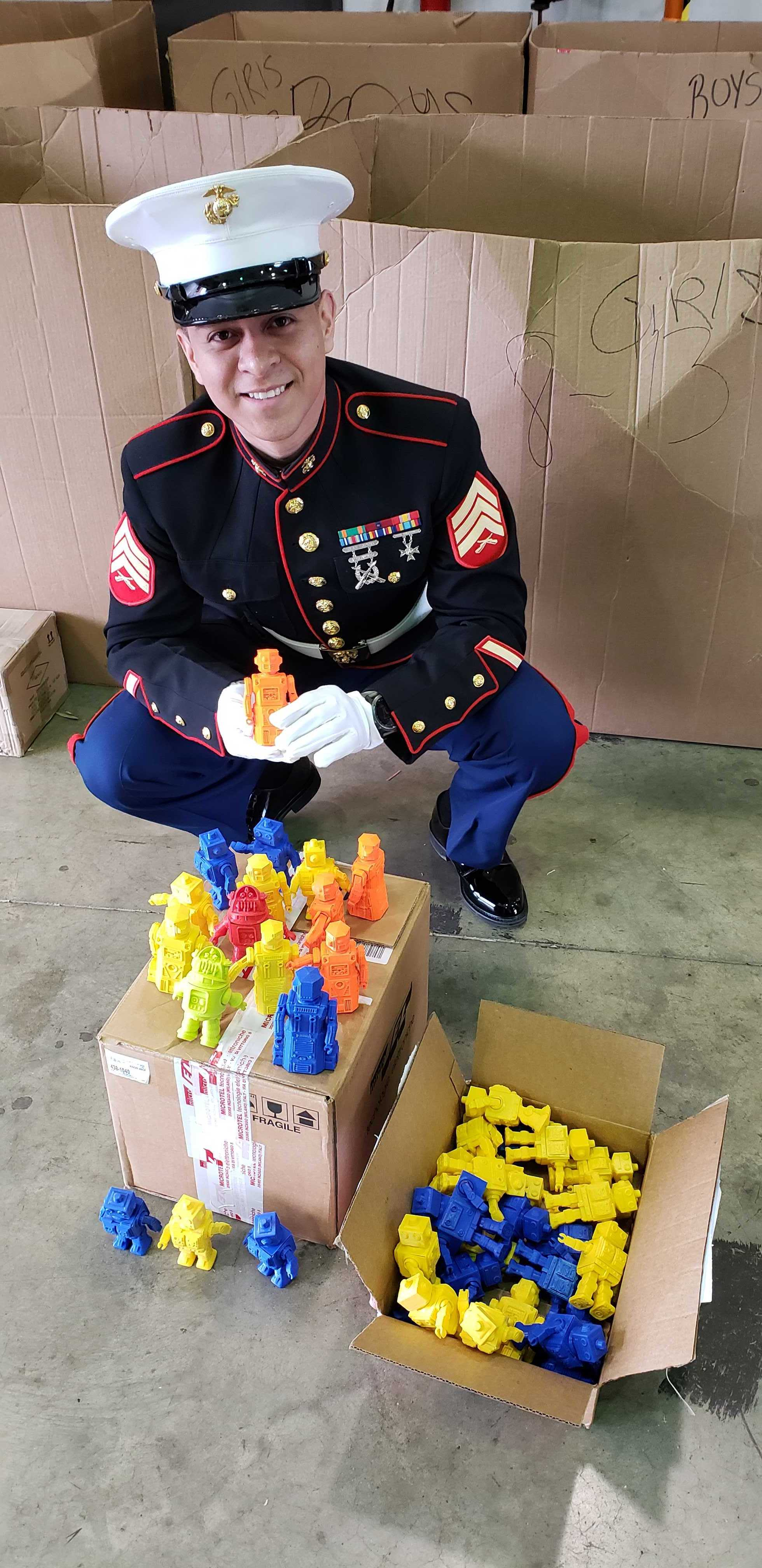 , 3D Printed Holiday Cheer with IC3D and Toys for Tots
