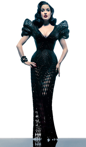 The World's First 3D Printed Dress