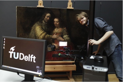 Analyzing Rembrandt and Van Gogh in 3D