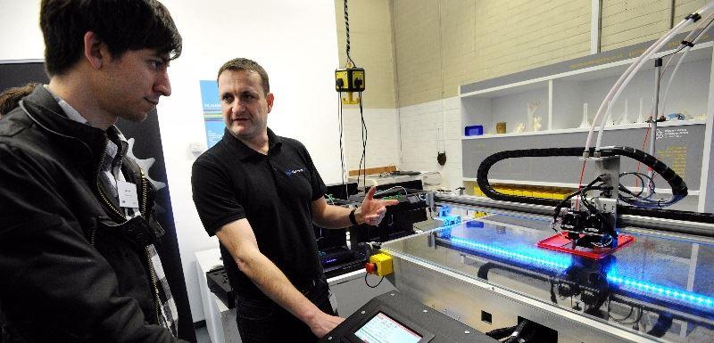 3D Printing Training [Source:  Manchester Metropolitan University ]