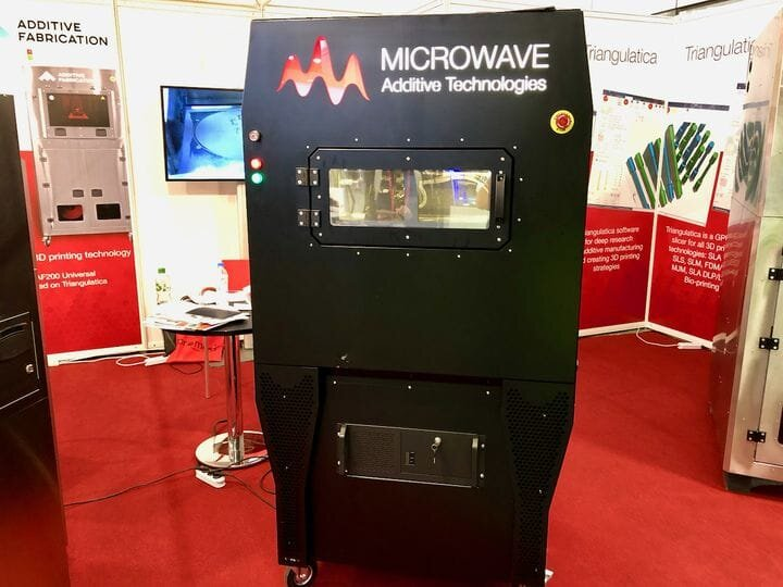 A prototype metal 3D printer that uses microwaves instead of lasers [Source: Fabbaloo]