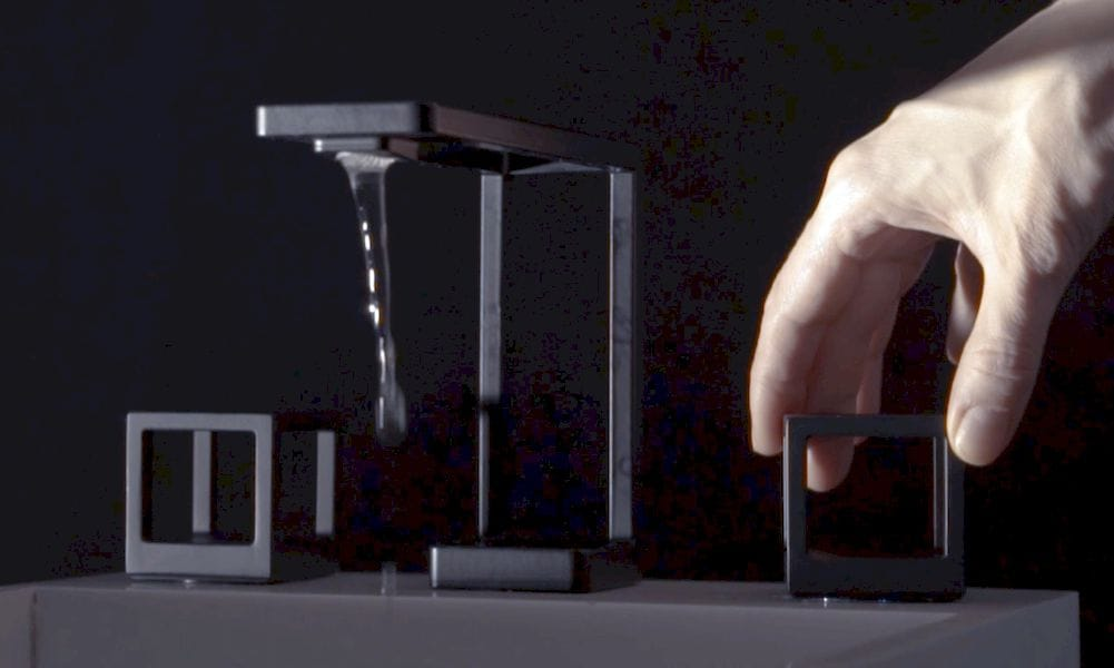 A 3D Printed Faucet Demonstrates Integration Possibilities
