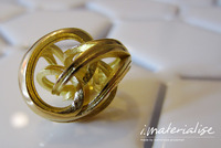 i.Materialise Glitters with Gold and Silver