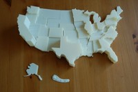 3D US Electoral Map or 3D Excel Chart?