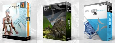 DAZ Studio, Bryce and Hexagon Available for Free!