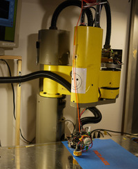 A Real Robot 3D Printer