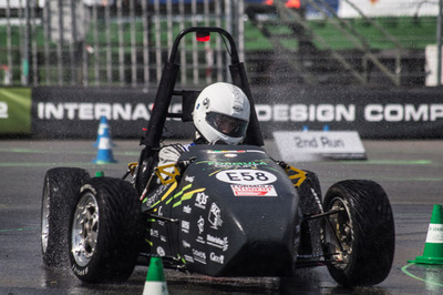 A 3D Printed Racing Car