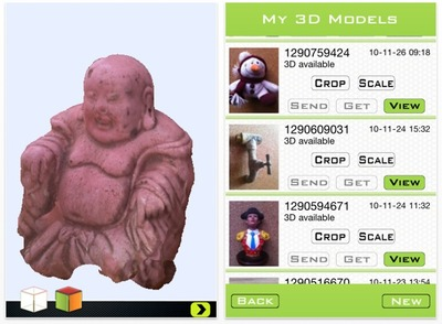 The iScan 3D App