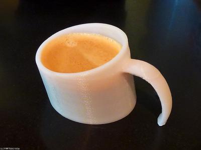 Design Of The Week: Sunken Coffee Mug