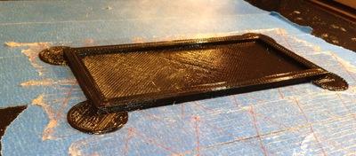 One Way to Reduce 3D Print Warping