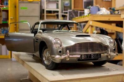 007's 3D Printed Cars