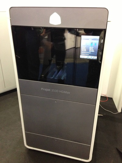 The Highly Defined 3D Systems ProJet 3500 HDmax