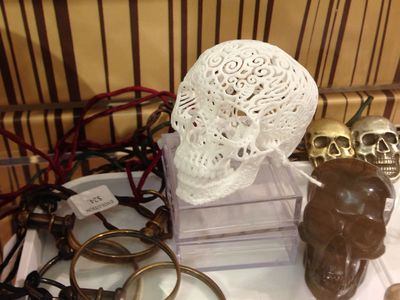 Spotted: Joshua Harker's Crania Anatomica Filigre
