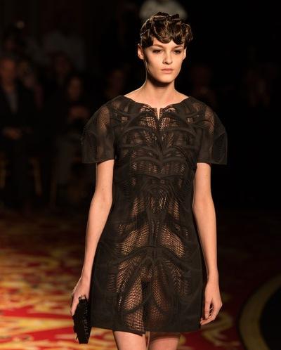 3D Printed Fashion In Paris Show