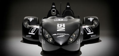 Nissan's Delta Wing Testbed Utilizes Additive Manufacturing
