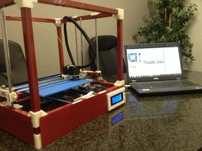 The RigidBot 3D Printer
