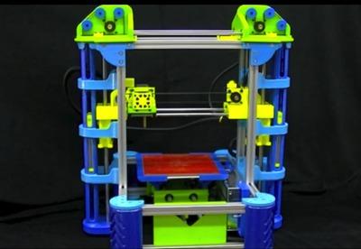The EZ3D Desktop Printer