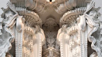 Digital Grotesque: A 3D Printed Room