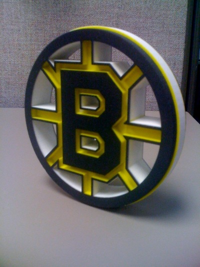 3D Printed Sports Logos: Illegal?