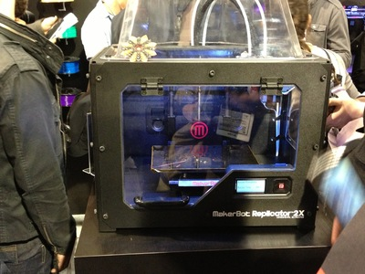 MakerBot's First Post-Stratasys 3D Printer?