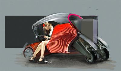 3D Printed Car Wins Pilkington Design Award