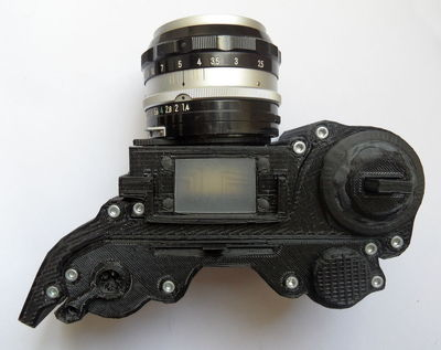 A 3D Printed Camera – That Works
