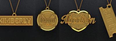 Polychemy's Personalized Necklaces