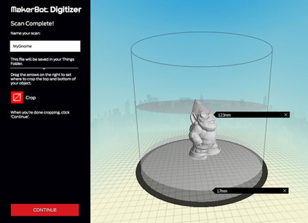 The MakerBot Digitizer: Now Available