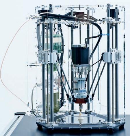 3D Printer History: The Festo iFab 3D Printer