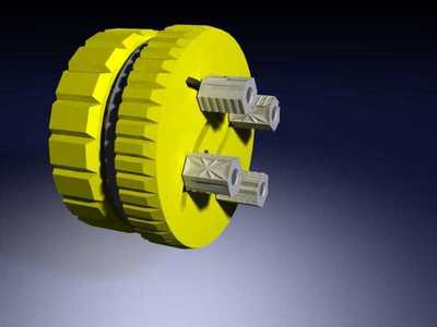Design of the Week: Four Jaw Self Centring Chuck