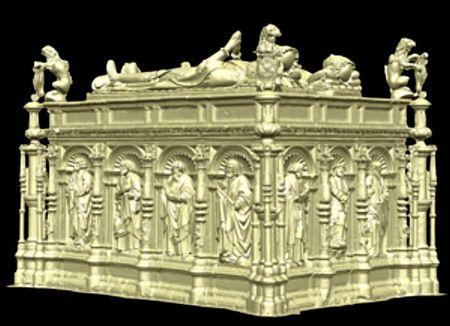 Ancient Tudor Sculptures 3D Printed