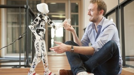 Adorable 3D Printed Humanoid Robot