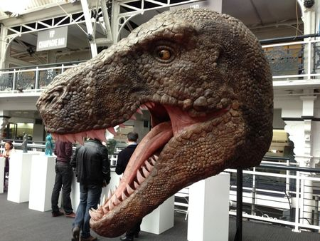 3D Printed Dinosaurs So Large They Could Eat You