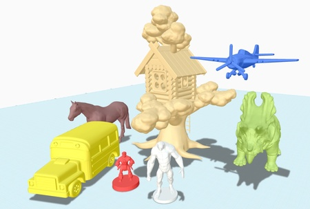 123D Offers More 3D Content