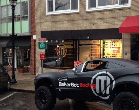 MakerBot Opens Two New Stores