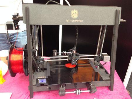 The KentStrapper Volta 3D Printer