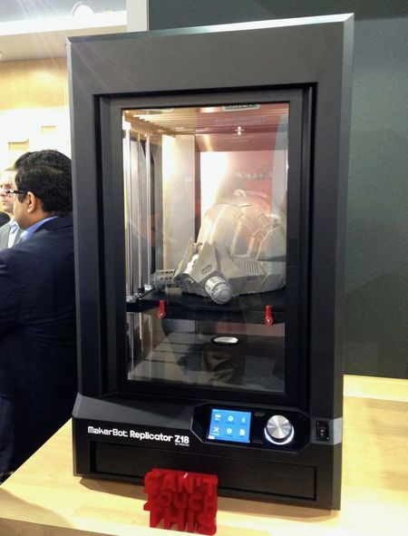 Thoughts on MakerBot's Curious Replicator Z18