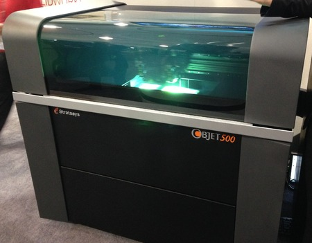 Stratasys Announces The Objet 500 Connex3 Advanced Color 3D Printer
