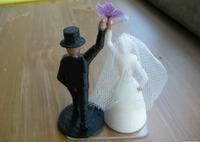 Erik's Wedding Topper