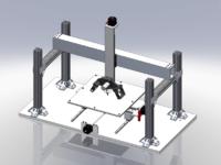 Gigantic Home-Designed 3D Printer