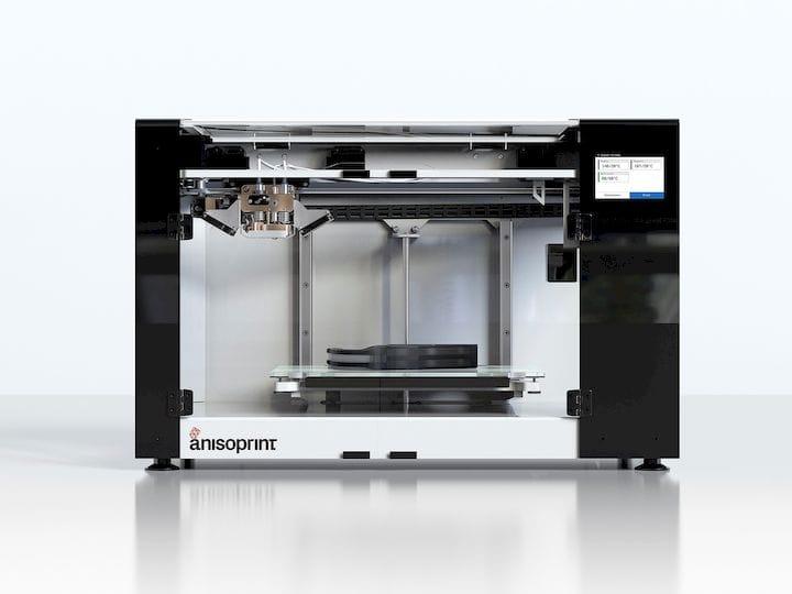 The Anisoprint Composer continuous carbon fiber 3D printer [Source: Anisoprint]