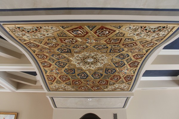 Arabic Style Ceiling Produced With 3D Printing