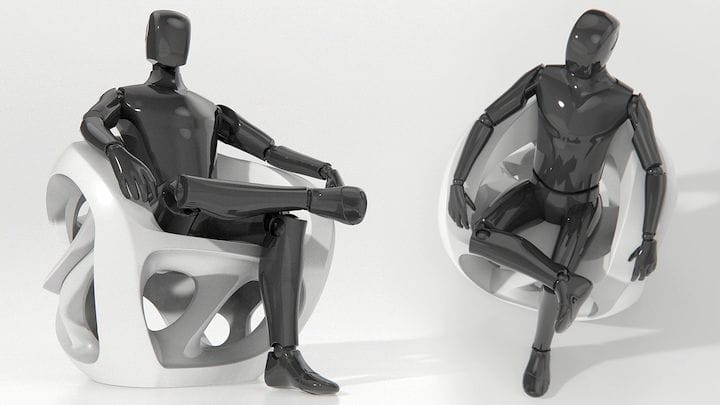 , Stefan Marji's Armchair Concept Sees A Future Filled With Expandable Furniture