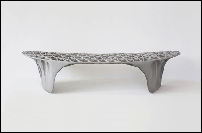 3D Printed Sedona Bench by Janne Kyttanen (Source: Janne Kyttanen )